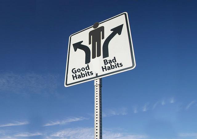 Habits sign